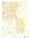 Omaha South Quadrangle by USGS 1975