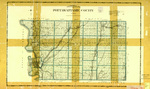 Topographical map of Pottawattamie County 1904