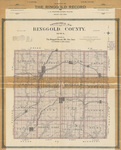 Topographical map of Ringgold County Iowa 1902