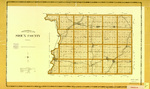Topographical map of Sioux County 1904