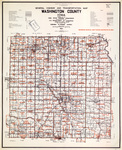 General highway and transportation map [Washington County] 1955