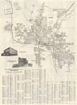 Map & street directory of Sioux City by Bekins side 1