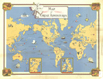 Map of great adventures