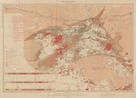 Topographical map of the northern part of the Lake of the Woods by A. C. Lawson 1885