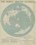 World around Australia 1946