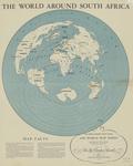 World around South Africa 1946