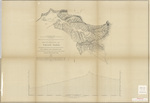 Map and profile of the Tejon Pass 1853