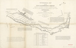 Topographical map of the road 1843 section 6
