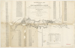 Topographical map of the road 1843 section 7