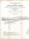Topographical map of the road 1846 section 2