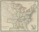 United States by Henry Teasdale 1843