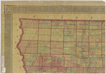 Asher & Adams civil & congressional township map Iowa 1870 sheet 1