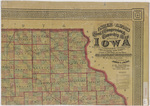 Asher & Adams civil & congressional township map Iowa 1870 sheet 2