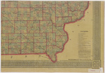 Asher & Adams civil & congressional township map Iowa 1870 sheet 4
