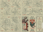 Conoco official road map of Iowa 1946 side 2