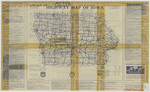 Highway map of Iowa 1929 side 1