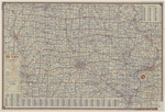 Highway map of Iowa 1947 side 1