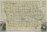 Iowa highway map 1937 side 1