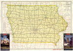 Iowa highway map 1941 side 1
