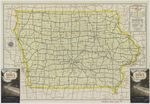 Iowa highway map 1949 side 1