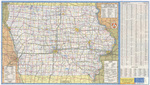 Iowa transportation map 1979-1980 side 1