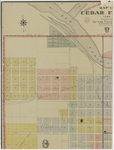 Map of Cedar Falls by Iowa Publ. 1908 sheet 1