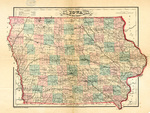 Map of Iowa by Iowa Loan and Trust side 1