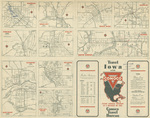Official Conoco road map of Iowa 1936 side 2