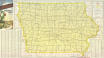 Official highway map of Iowa 1953 side 1