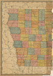 Rand McNally's new sectional map of Iowa part 1