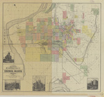 Allen's suburban map of Council Bluffs 1890