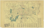 City map of Des Moines 1931 by Hyman's Book Store