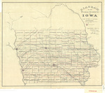 Diagram of the public surveys in Iowa 1866