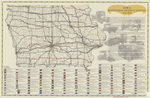 Iowa registered highway routes 1914-1925