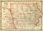 Johnson's Iowa & Nebraska 1861