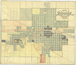 Map of Boone 1921