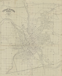 Map of Cedar Rapids 1930 by City Engineer's Office