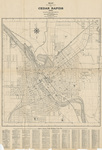 Map of the City of Cedar Rapids 1909