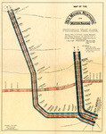 Map of the Des Moines Northern & Western RR 1897