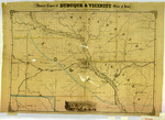 Map of the mineral region of Dubuque and vicinity 1858