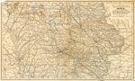 Matthews-Northrup 1898 up-to-date map of Iowa