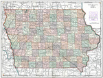 Red Wing Adv. Companys map of Iowa