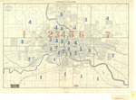 Tate's map of Des Moines 1898