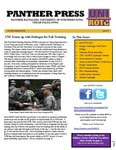 Panther Press, Fall 2013 by University of Northern Iowa. Department of Military Science.