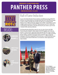 Panther Press, Fall 2016 by University of Northern Iowa. Department of Military Science.