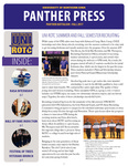 Panther Press, Fall 2017 by University of Northern Iowa. Department of Military Science.