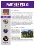 Panther Press, Fall 2018 by University of Northern Iowa. Department of Military Science.