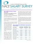 Salary Survey, Fall 2009 by National Association of Colleges and Employers