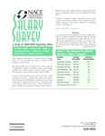 Salary Survey, Spring 2009 by National Association of Colleges and Employers