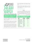 Salary Survey, Spring 2009